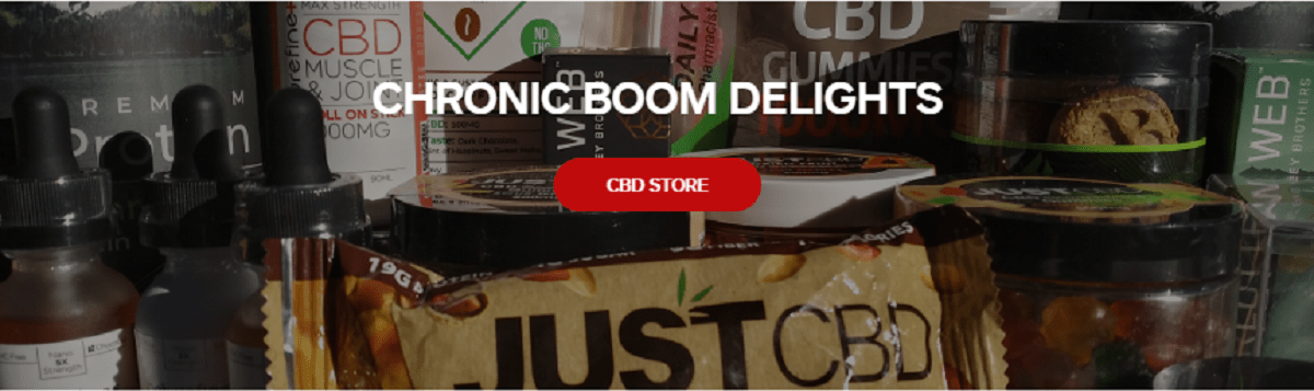 Chronic Boom Delights CBD Store Products