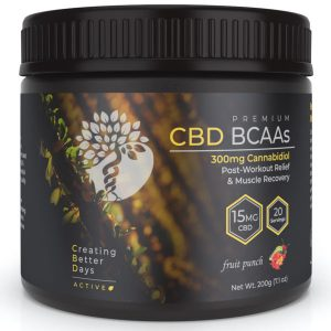 Creating Better Days CBD BCAAs 300mg