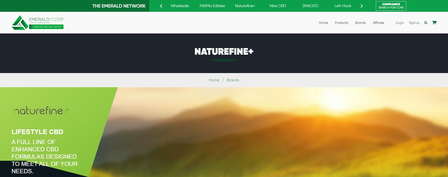 Emerald Network CBD Products
