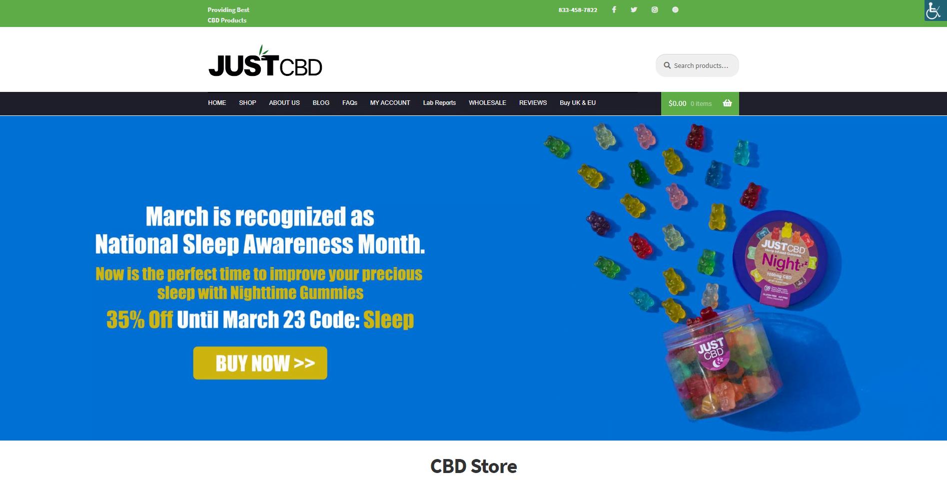 JustCBD Strore