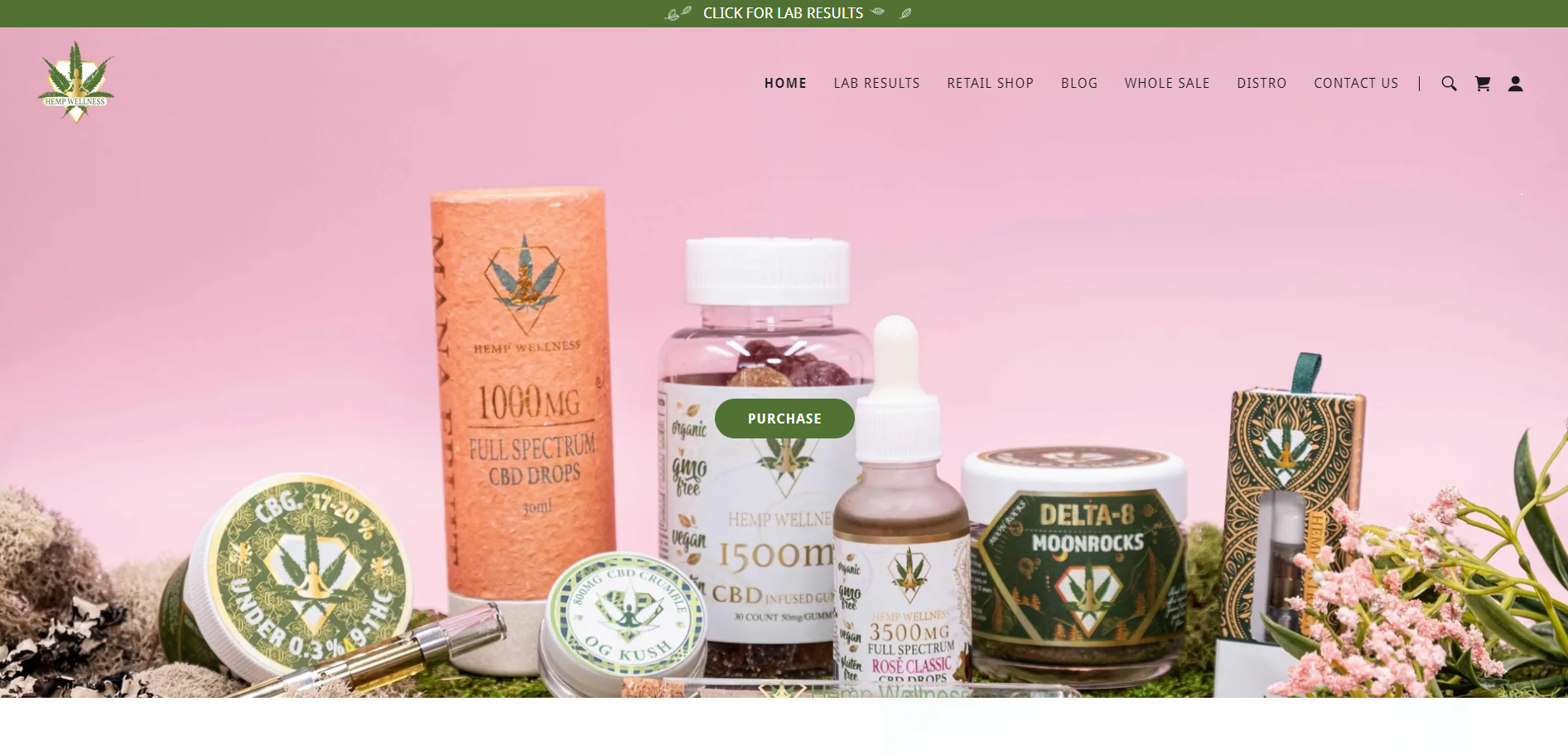 hempwellness CBD Products