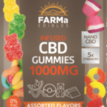 FARMa CBD Edible Gummies 1000mg MIxed