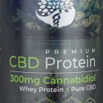 Creating Better Days Vanilla CBD Whey Protein 300mg