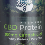 Creating Better Days Chocolate CBD Whey Protein 300mg