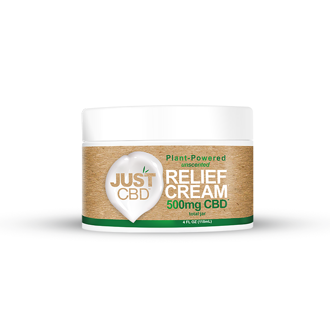 Just CBD Pain Relief Cream 500mg