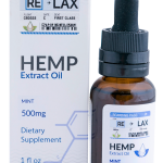 Strawberry ReLax CBD Oils 500mg