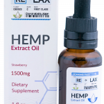 Strawberry ReLax CBD Oils 1500mg