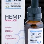 Strawberry ReLax CBD Oils 1500mg