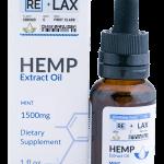 Mint ReLax CBD Oils 1500mg