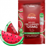FARMa CBD Watermelon Gummies 125mg