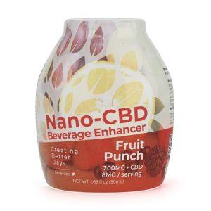 Creating Better Days Nano-CBD Beverage Enhancer Fruit Punch 200MG