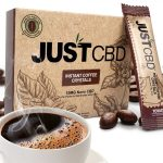 JustCBD CBD Coffee 10x10mg packets