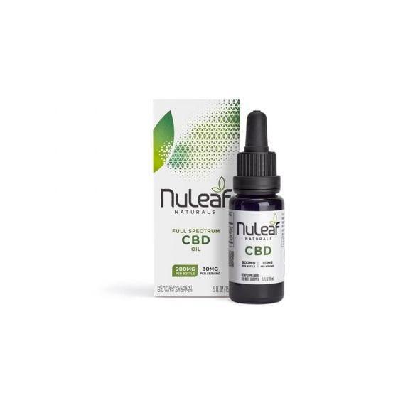 NuLeaf Naturals CBD Tincture 900mg CBD (15ml)