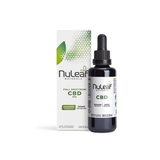 NuLeaf Naturals CBD Tincture 3000mg CBD (50ml)