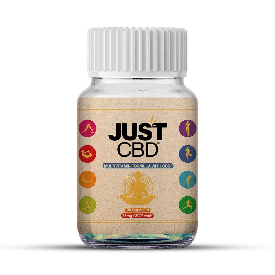 JustCBD Capsules Multivitamin Formula