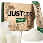 JustCBD CBD Instant Milk Crystals 10x10mg packets