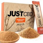 JustCBD CBD Brown Sugar Crystals 10x10mg packets