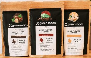 CBD Coffee Greenroads 2.5oz Hazlenut