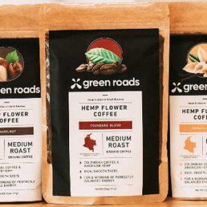 CBD Coffee Greenroads Founder Blend 12oz