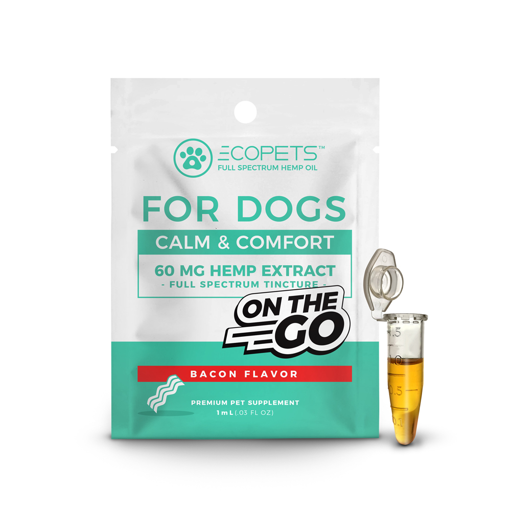 EcoPets CBD Pet Tincture Bacon 1 mL