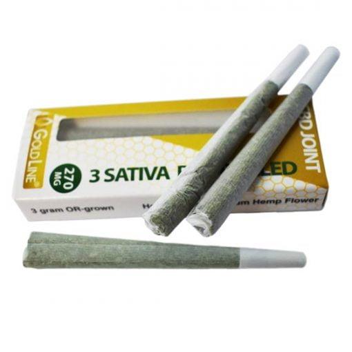 Gold Line CBD doobie Sativa