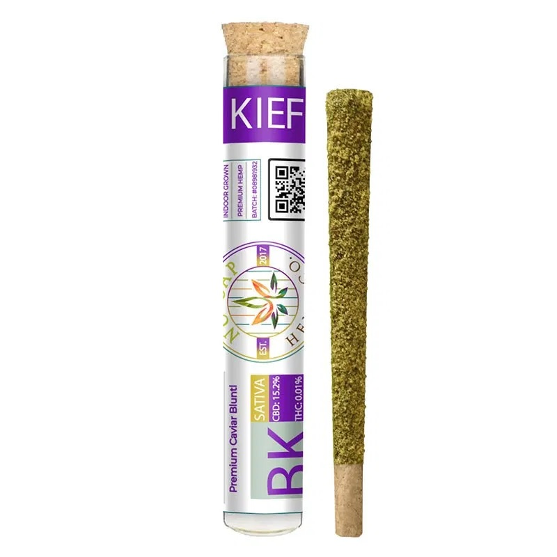 NoCap Bubba Kush Flower Kief Joints