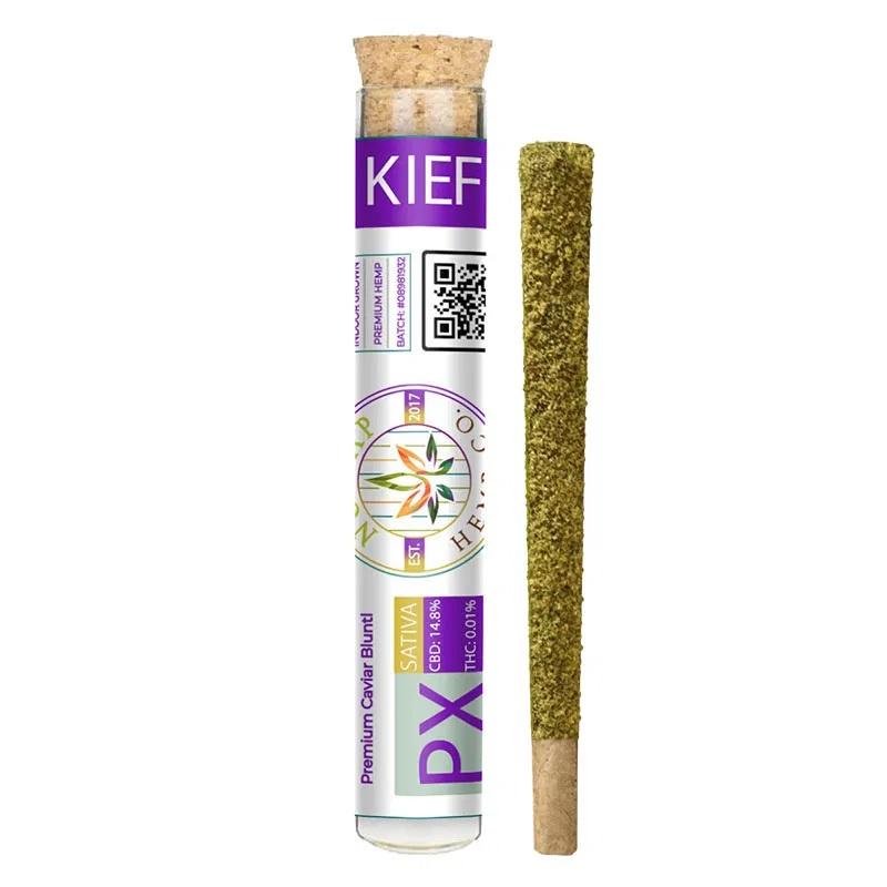 No Cap Pineapple Ex CBD Flower Kief Joint