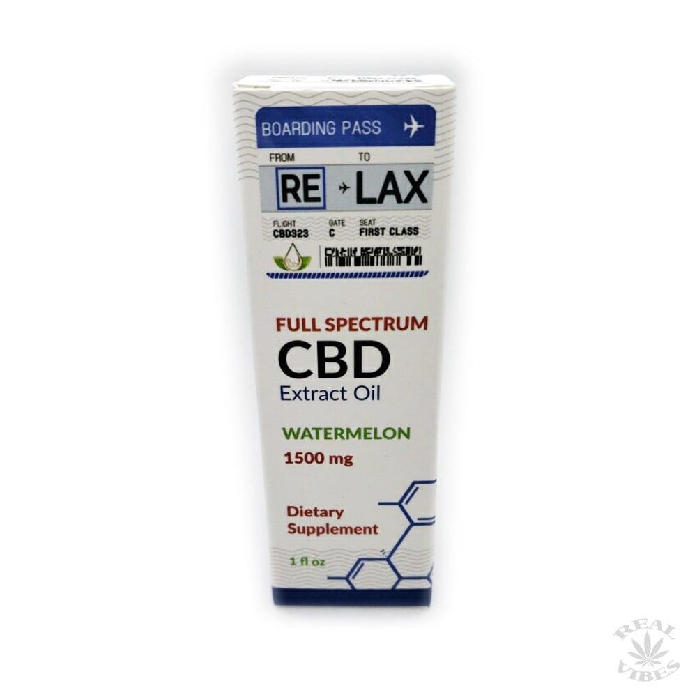 RE-LAX CBD Oil – Watermelon 500mg