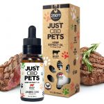 Just CBD Pet Tinctures for dogs Beef 250mg