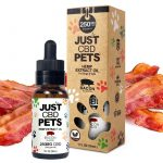 Just CBD Pet Tinctures for dogs Bacon 250mg
