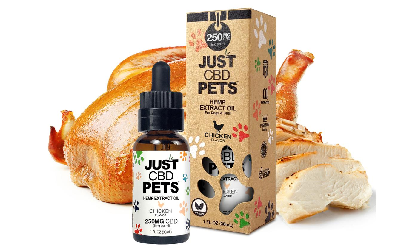 Just CBD Pet Tinctures for dogs Chicken 250mg