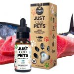 Just CBD Pet Tinctures for cats Tuna 250mg
