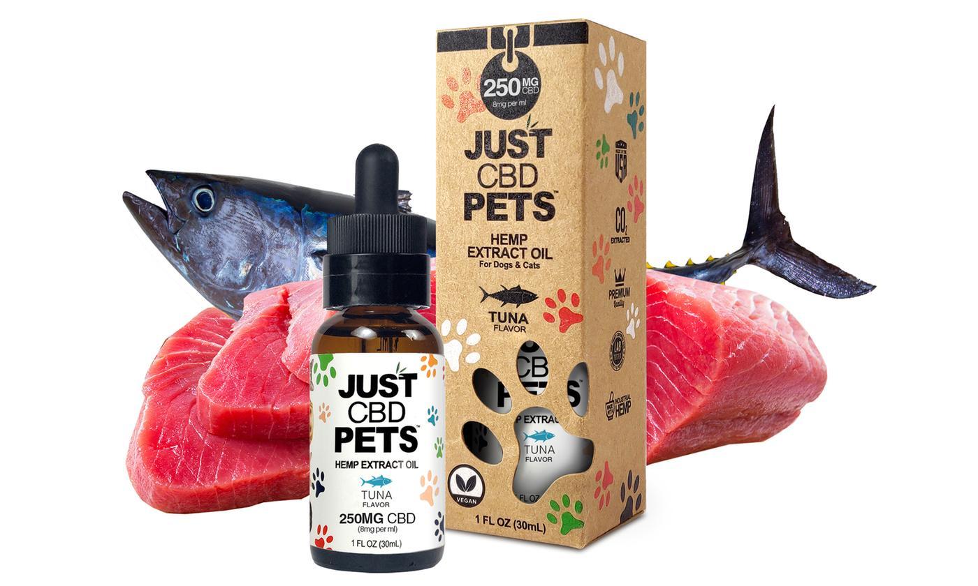 Just CBD Pet Tinctures for cats Tuna 250mg