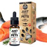 Just CBD Pet Tinctures for cats Salmon 250mg