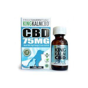 KING KALM CBD Pet Oils 75mg