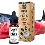 Just CBD Pet Tinctures for cats Tuna 500mg