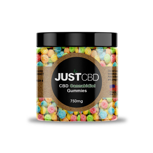 JustCBD Gummy Happy Faces 750mg