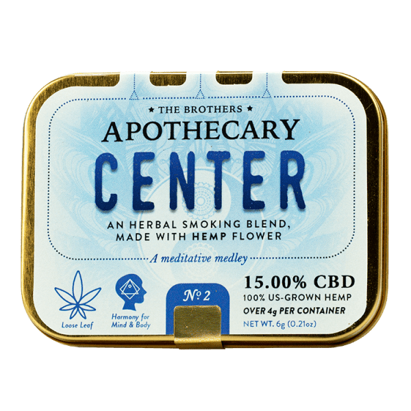 Apothecary Center-CBD Flower
