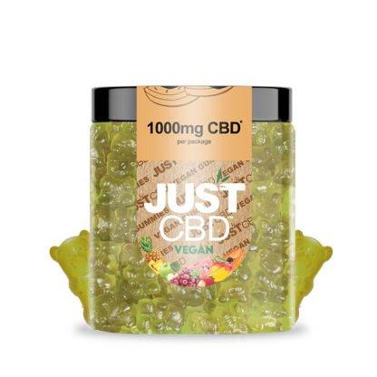 CBD Vegan Mixed Fruits Gummies 1000mg